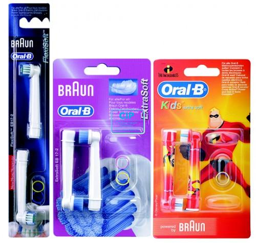 ORAL-B OPZETBORSTELS FOR KIDS CARS/MICKEY/PRINCESS EB10K (2st)