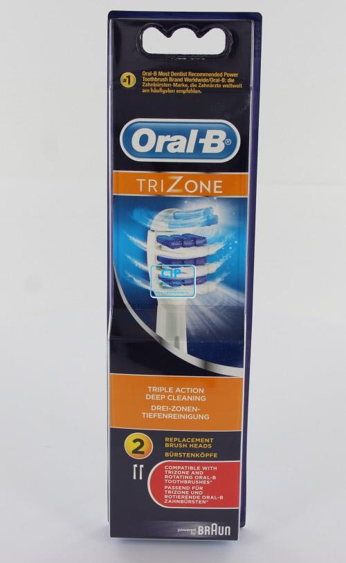 ORAL-B OPZETBORSTELS TRIZONE EB30-2 FFS BRUSH SET (2st)