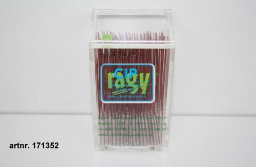 RAGY INTERDENTAALBORSTELS XX-SMALL 2,5mm ROOD (250st)
