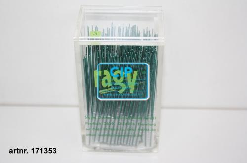 RAGY INTERDENTAALBORSTELS X-SMALL 3mm GROEN (250st)