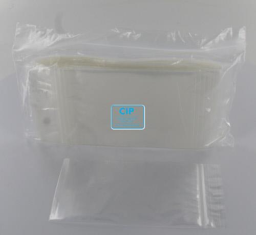 HOFMEESTER GRIPZAKJES MERKLOOS 8x12cm (100st)