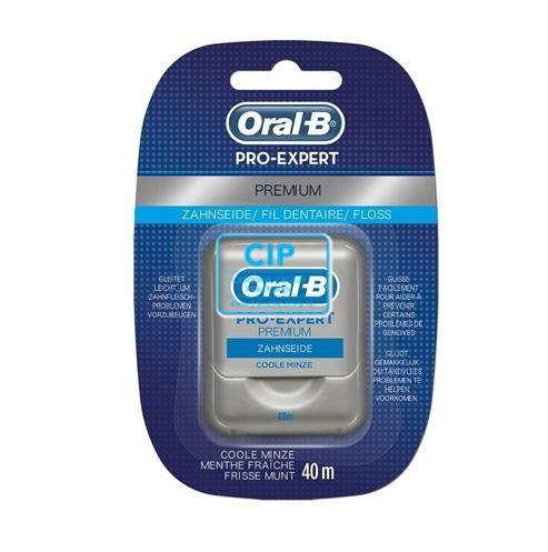 ORAL-B PRO-EXPERT PREMIUM FLOSS WAXED COOL MINT (12x40mtr)