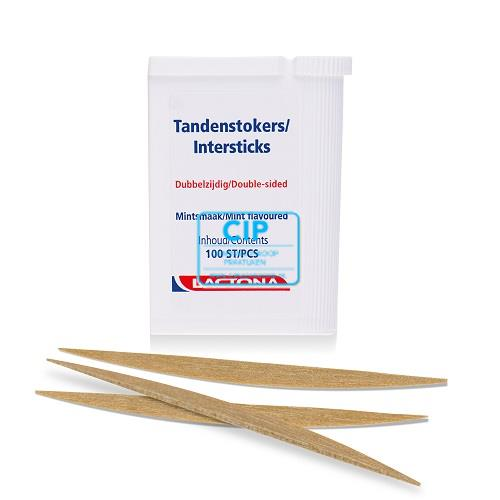 LACTONA TANDENSTOKERS INTERSTICKS (12x100st)