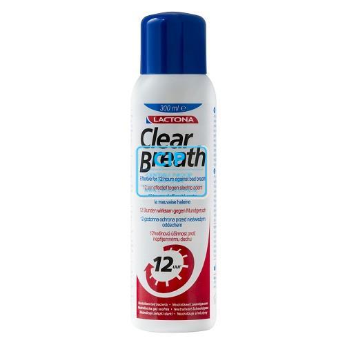 LACTONA CLEAR BREATH MONDSPOELMIDDEL (300ml)