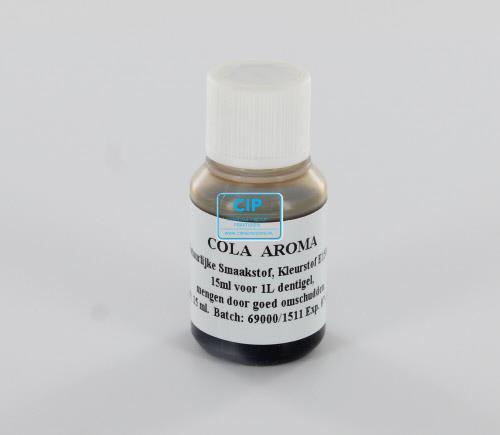 DENTIGEL FLUORIDESMAAKSTOF COLA (15ml)