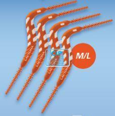 LACTONA FLEXPICK 2in1 ORANJE M/L (50x4st) 40387096