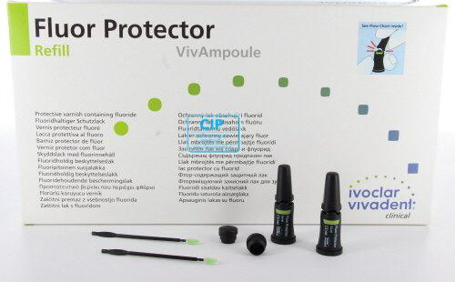 VIVADENT FLUOR PROTECTOR 0.1% SINGLE DOSE (40x0,4ml)