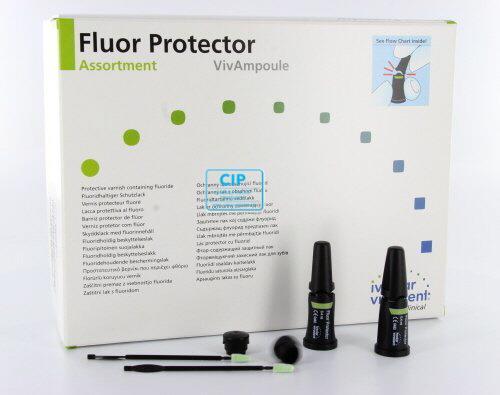 VIVADENT FLUOR PROTECTOR 0.1% SINGLE DOSE (20x0,4ml)