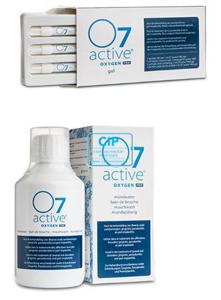 ORAL COMPANY O7 ACTIVE PROFESSIE SET (3x spuitjes / 3x mondspoeling 250ml)