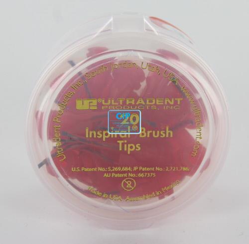 ULTRADENT INSPIRAL BRUSH TIPS NR.UP-710 (20st)