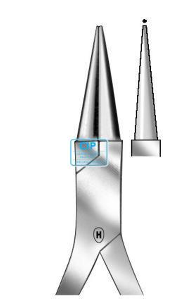 HAMMACHER RONDTANG SPITS HSL-494-12, 120mm