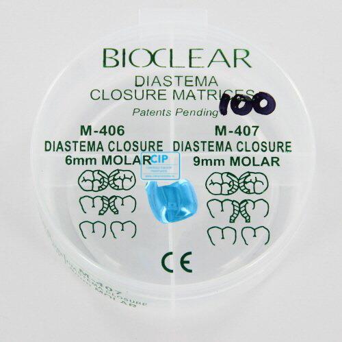BIOCLEAR MATRIX DIASTEMA TALL CURVED MOLAR 8,5mm (100st)