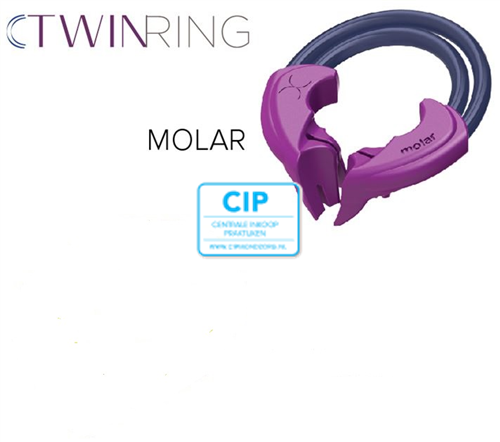 BIOCLEAR TWIN RING MOLAAR PAARS (2st)