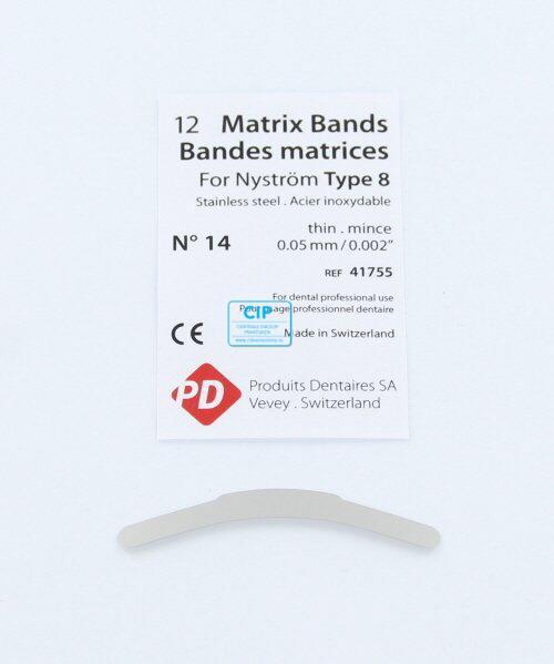 PD MATRIXBAND TYPE 8 NR.14 DUN (0,05mm)