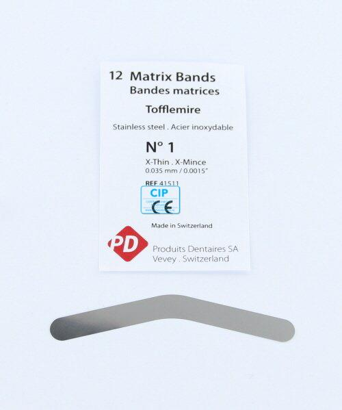 PD MATRIXBAND TOFFLEMIRE TO-1 EXTRA DUN (0,035mm)