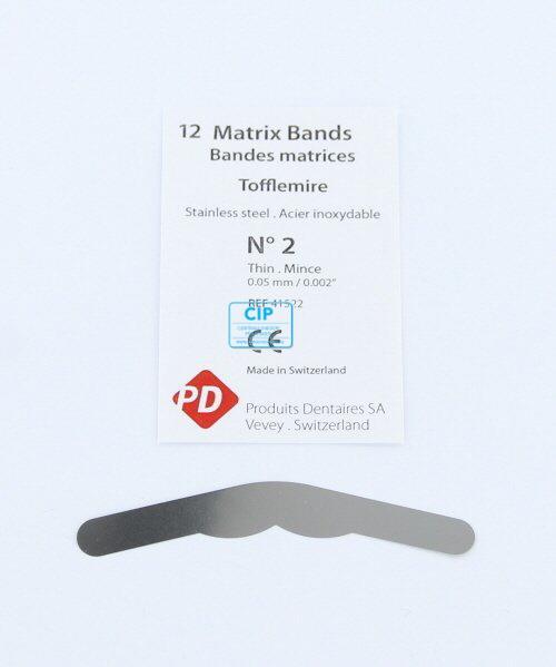 PD MATRIXBAND TOFFLEMIRE TO-2 DUN (0,05mm)
