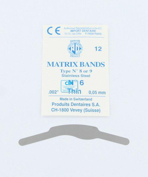 PD MATRIXBAND TYPE 1 NR.6 DUN (0,05mm)
