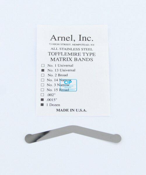 PD MATRIXBAND TOFFLEMIRE TO-13 VOOR KIND EXTRA DUN (0,035mm)