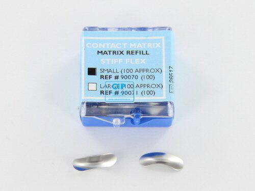 DANVILLE CONTACT MATRIX STIFF FLEX MATRIXBANDEN SMALL (100st)