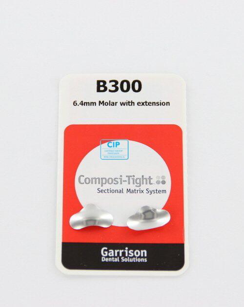 GARRISON COMPOSI-TIGHT ORIGINAL MATRIXBANDJES LARGE 6,4mm B-300 (50st)