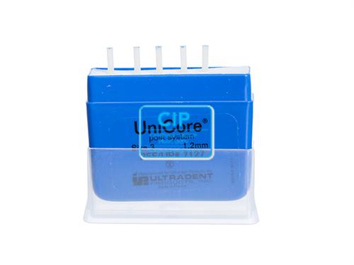 ULTRADENT UNICORE POST NR.3 REFILL 1,2mm BLAUW (5st)