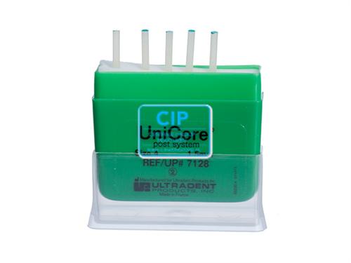 ULTRADENT UNICORE POST NR.4 REFILL 1,5mm GROEN (5st)