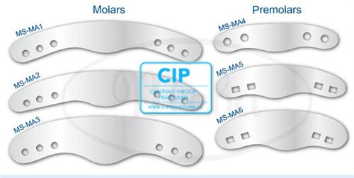 MEBA MATRIXEN NR.3 MOLAAR 3-GAATJES (12st)