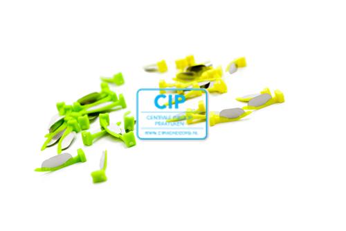 DIRECTA FENDERMATE PRIME ASSORTMENT (18st short neon geel/18st long neon groen)