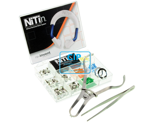 RE-INVENT NiTin SECTIONAL MATRIX KIT WITH FULL CURVE BANDS REF NT-KMN-01