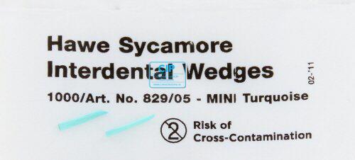 KERRHAWE WIGGEN NR.829/05 TURQUOISE (1000st)