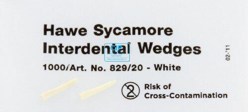 KERRHAWE WIGGEN NR.829/20 WIT (1000st)
