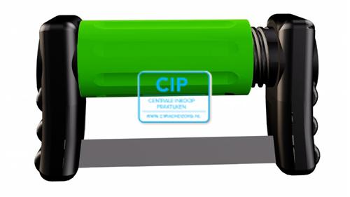 GARRISON FITSTRIP SINGLESIDE COARSE 0,18mm GROEN FPSCSS (10st)