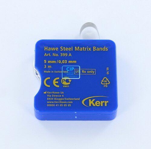 KERRHAWE MATRIXBAND OP ROL X-DUN 0,03mm/5mm NR.399A (3mtr)
