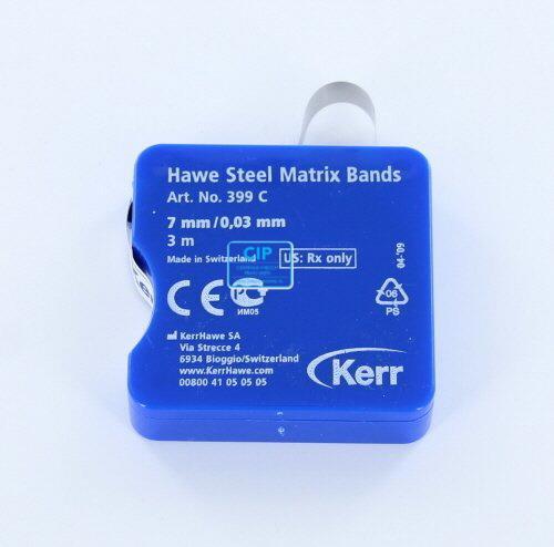 KERRHAWE MATRIXBAND OP ROL X-DUN 0,03mm/7mm NR.399C (3mtr)
