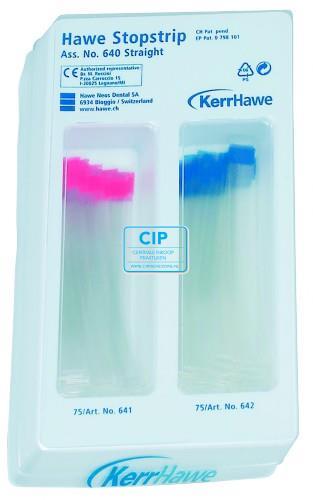 KERRHAWE STOPSTRIPS RECHT ASSORTED 8/10mm NR.640 (2x75st)