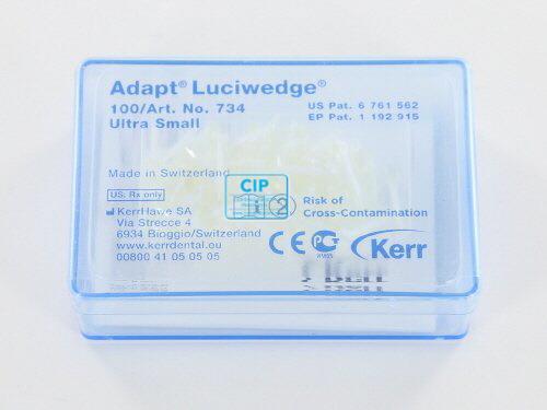 KERRHAWE ADAPT LUCI-WEDGES X-SMALL NR.734 (100st)