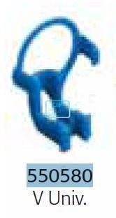 RINN XCP DS BITE-BLOCKS VOOR SIRONA ANTERIOR VERTICAAL UNIVERSEEL BLAUW 55-0580 (3st)
