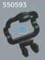 RINN XCP DS SENSOR HOLDERS VOOR ACTEON NR.1H ZWART 55-0593 (3st)