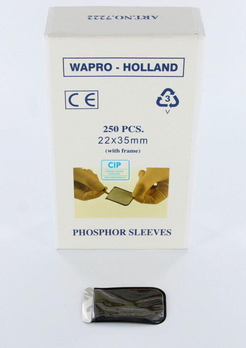 WAPRO FOSFOR HOESJES MET FRAME SIZE 0 - 22x35mm (250st)