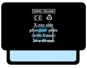 WAPRO FOSFOR HOESJES MET FRAME SIZE 1 - 24x40mm (250st)