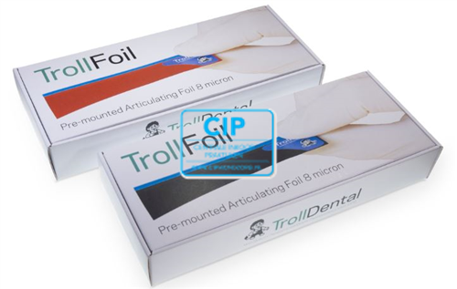 TROLLHATTEPLAST TROLLFOIL ROOD (100st)