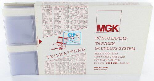 MGK RONTGENFILMMAPJES ZELFKLEVEND NR.22250 (250st)