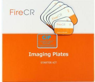 3DISC IMAGING FIRECR RONTGENPLAATJES STARTER KIT (2xsize 0/4xsize 2)