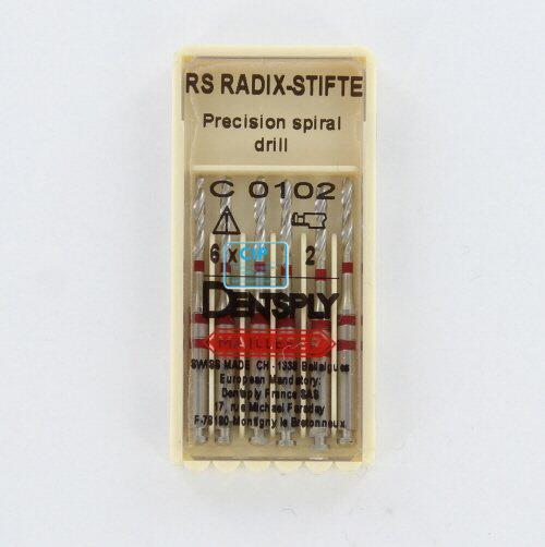 MAILLEFER RADIX RS PRECISIE-BOREN NR.2 ROOD (6st)