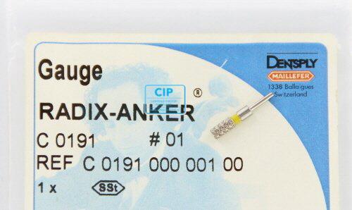 MAILLEFER RADIX ANKER PASSTIFT NR.1 GEEL (1st)