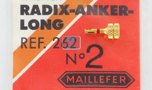 MAILLEFER RADIX ANKER HANDWRENCH GOUD REF.262 NR.2-L ROOD (1st)