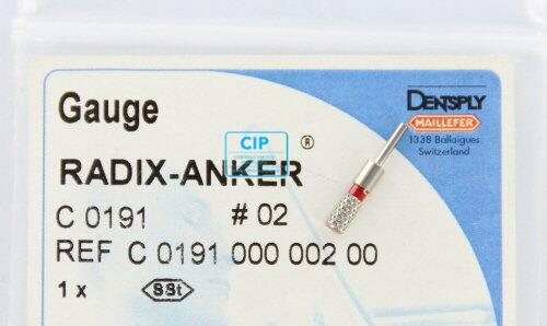 MAILLEFER RADIX ANKER PASSTIFT NR.2 ROOD (1st)
