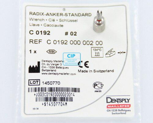 MAILLEFER RADIX ANKER HANDWRENCH NR.2 ROOD (1st)