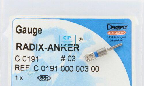 MAILLEFER RADIX ANKER PASSTIFT NR.3 BLAUW (1st)