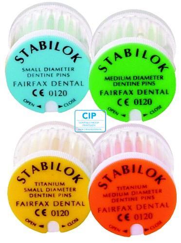 FAIRFAX STABILOK SMALL BLAUW JUMBO (100st)